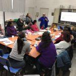 Mentoras y emprendedoras en el taller para emprendedoras del Cerro