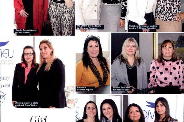 Fotos sociales de Despedida a Embajadora de USA en Revista Paula