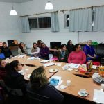 Participantes del taller para emprendedoras del Cerro