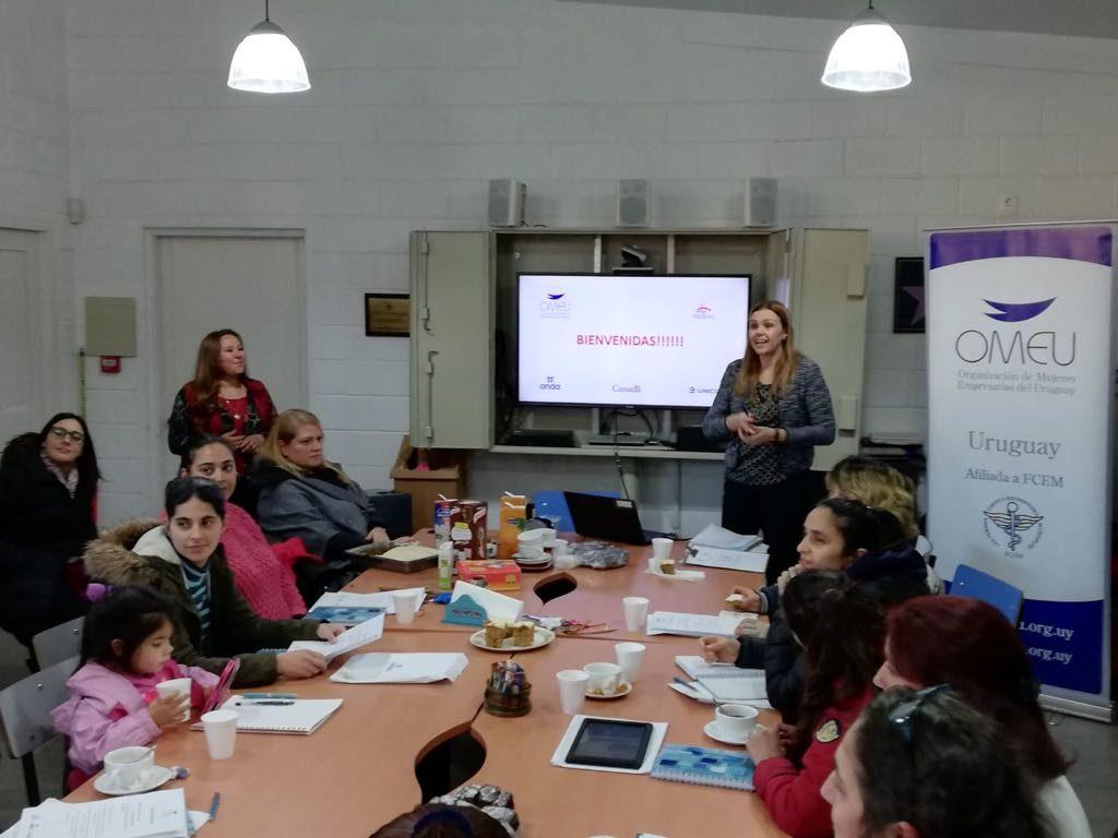 Imagen del taller para mujeres emprendedoras