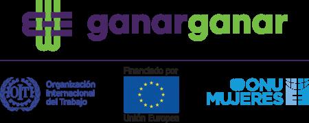 ganar-ganar-oit-union-europea-onu-mujeres-logo